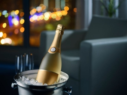 シャンパン 保存
